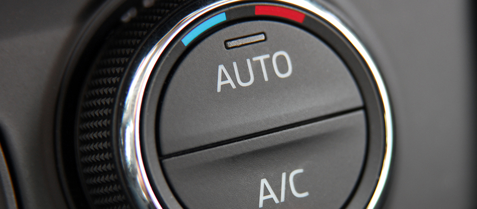 A/C push button - Car Air Conditioning Nottingham